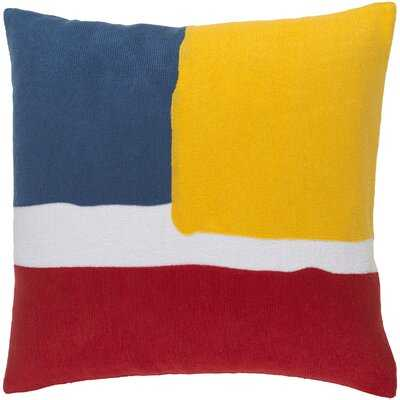 Carletta Cotton Throw Pillow Cover - AllModern