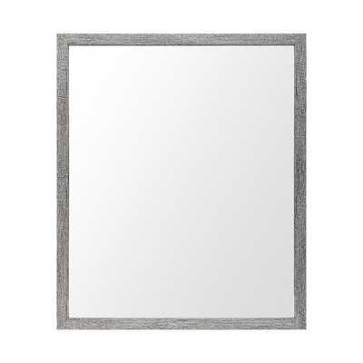 Mercana Versatile Grey Rectangle Bathroom/Vanity/Accent Mirror 20 x 24 - Home Depot