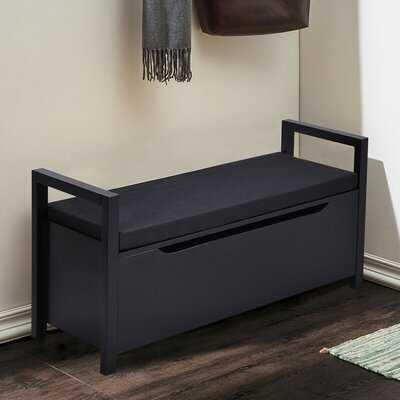 Shoe Bench Hallway Entryway Storage Rack W/ Cushion Seat - Wayfair