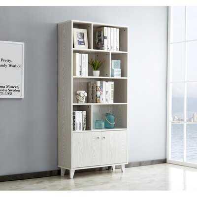 "Cherrelle 68.54"" H x 31.49"" W Corner Bookcase - Wayfair"
