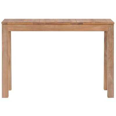 "Manolis 29.9"" Solid Wood Console Table - Wayfair"