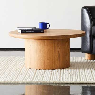Justice Oak Coffee Table - CB2