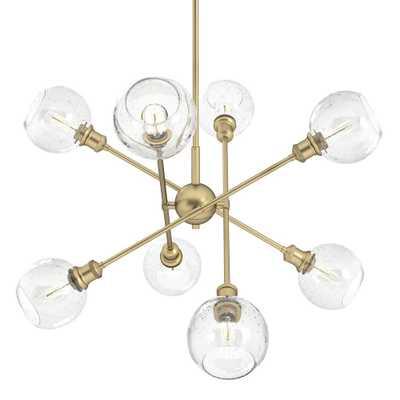 Golden Lighting Axel 8-Light Olympic Gold Sputnik Chandelier - Home Depot