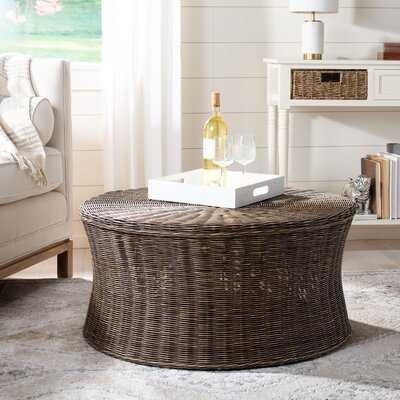 Willow Drum Coffee Table - Birch Lane