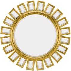 1428-B Antique Gold Mirror - High Fashion Home