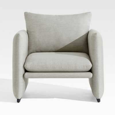 Zuma Outdoor Upholstered Lounge Chair - Crate and Barrel