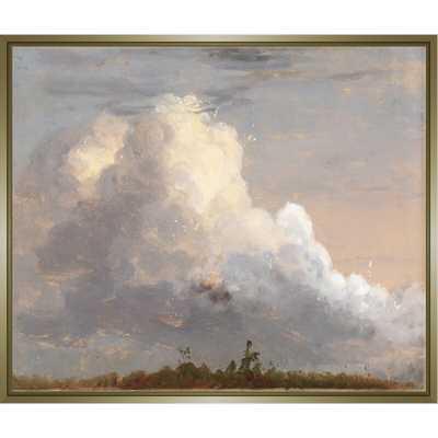 "JBass Grand Gallery Collection 'Cloud Landscape' Print on Canvas Size: 31.75"" H x 31.75"" W x 1.75"" D - Perigold"