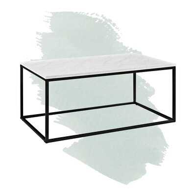 Dorian Frame Coffee Table - Wayfair