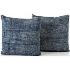 Faded Blue Haze Pillow (Set of 2) - High Fashion Home