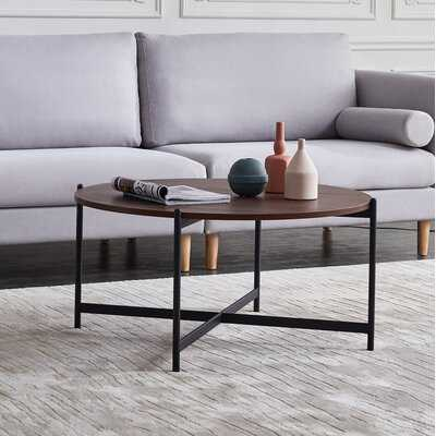 Bohumír Cross Legs Coffee Table - Wayfair
