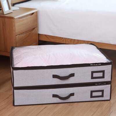 Fabric Underbed Storage - Wayfair