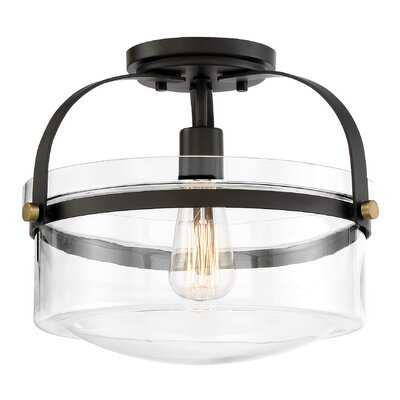 Portland 1-Light Semi Flush Mount - Birch Lane