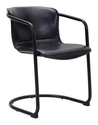 Paxton Dining Chair (Set of 2) Black - Zuri Studios