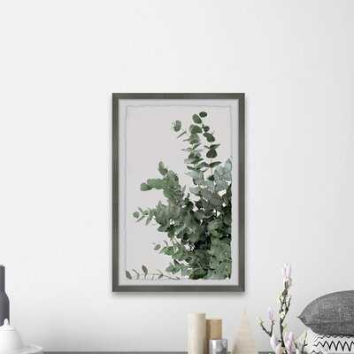 'Evergreen Shrub' - Picture Frame Photograph Print on Paper - AllModern