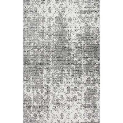 Waterbury Abstract Gray Area Rug - Wayfair