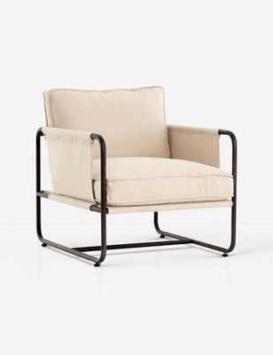 Alena Chair, Cream - Lulu and Georgia