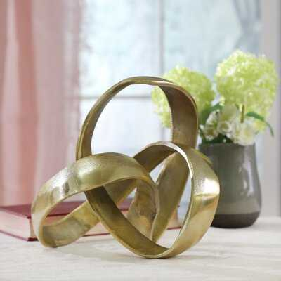 Verity Aluminum Knot Sculpture - Wayfair