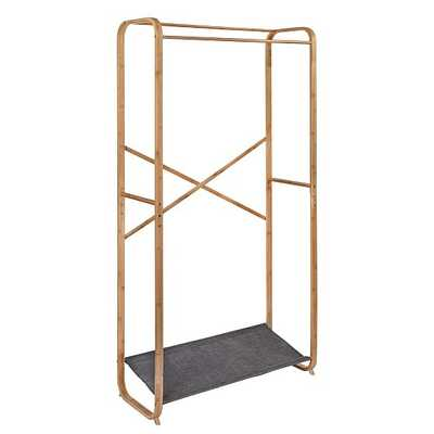 Bamboo & Canvas Garment Rack - West Elm