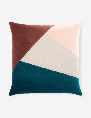 "Nance Pillow, Multicolor 20"" x 20"" - Lulu and Georgia"