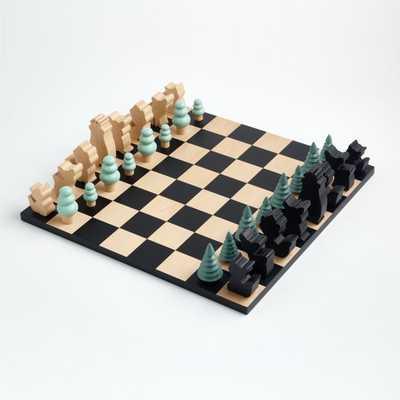 Woodland Wonder Chess Set - Crate and Barrel