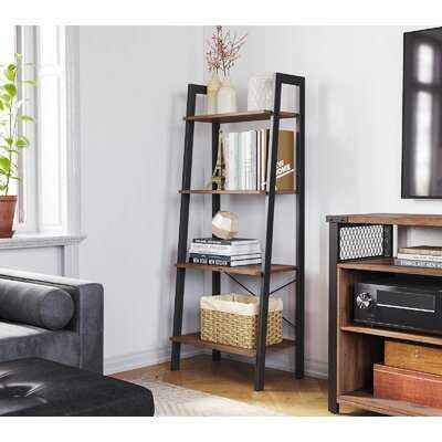 "Regnwald 54.1"" H x 22.1"" W Steel Etagere Bookcase - Wayfair"