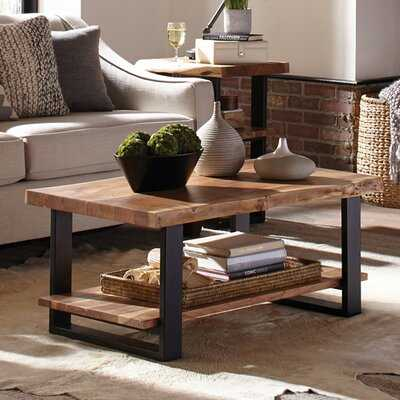 Spurgeon Sled Coffee Table with Storage - Wayfair
