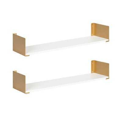 2 Piece Floating Shelf - Wayfair