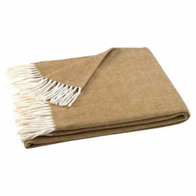 Kelson Herringbone Throw Blanket - Birch Lane