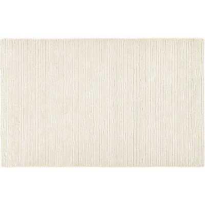 Elfen Ivory Textured Wool Rug 8'x10' - CB2