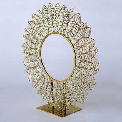 Wire Leaf Sculpture - Wayfair