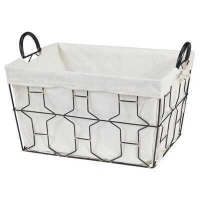Romario Wire Basket - Wayfair