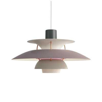 Louis Poulsen PH 1 - Light Single Tiered Pendant Finish: Hues of Gray, Bulb Type: 1/22W LED/A-21/MEDIUM - Perigold
