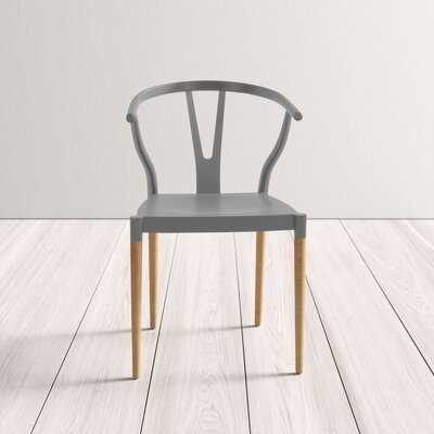 Selena Slat Back Arm Chair (Set of two) - Wayfair