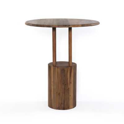 "Four Hands Merritt Bar Height Dining Table Size: 42"" H x 35.5"" W x 35.5"" D - Perigold"