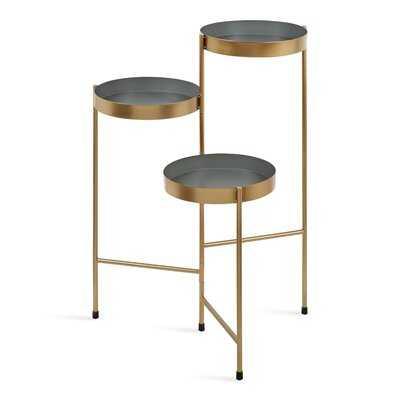 Lofgren Metal Round Multi-Tiered Plant Stand - Wayfair