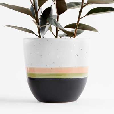 Aveiro Large Blush Planter - Crate and Barrel