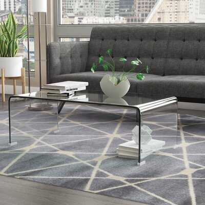 Arviso Sled Coffee Table - Wayfair