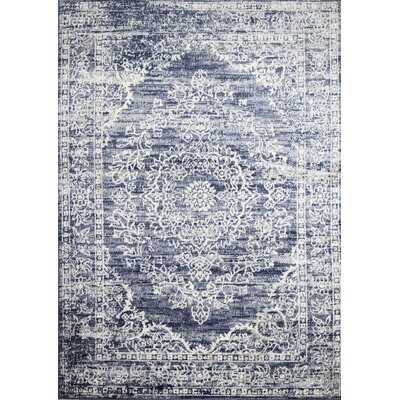 Saginaw Oriental Blue Area Rug - Wayfair