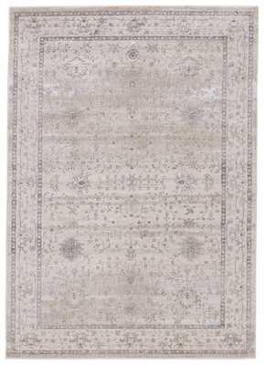 "Fawcett Oriental Gray Area Rug (6'7""X9'6"") - Collective Weavers"