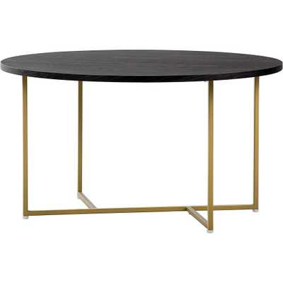 Ines Round Coffee Table French Black - Adore Décor - Target