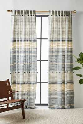 Woven Mariella Curtain - Anthropologie