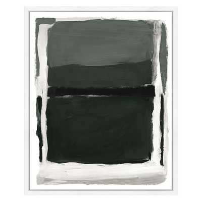 Gray Spaces 1 Wall Art, Small - West Elm