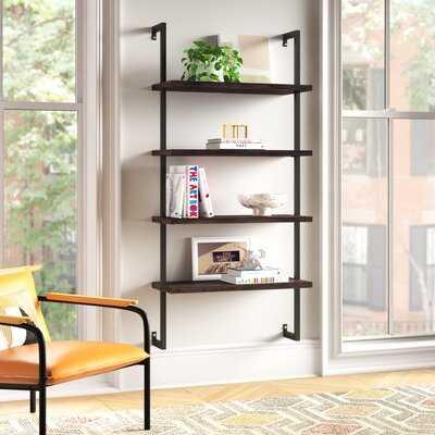 "Dawud 64"" H x 30"" W Metal Ladder Bookcase - Wayfair"