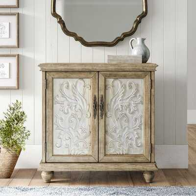 Angeles 2 Door Accent Cabinet - Birch Lane