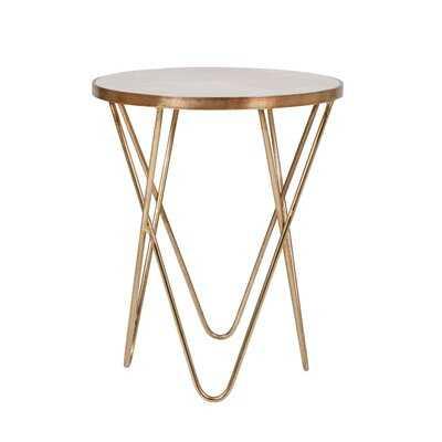 Helwig Cross Legs End Table - Wayfair