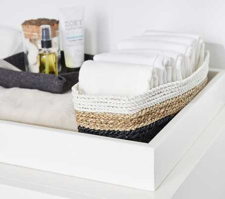 west elm x pbk Tricolor Nursery Storage, Changing Table - Pottery Barn Kids