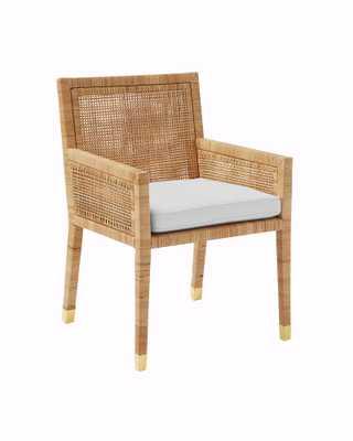 Cushion Cover - Balboa Armchair - Natural - Serena and Lily