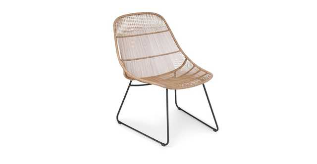 Selka Natural Lounge Chair - Article