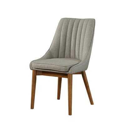 Wilker Upholstered Side Chair in Gray - Wayfair