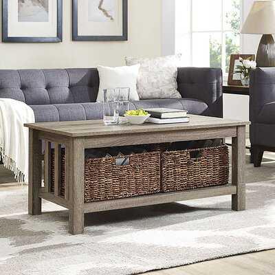 Denning Coffee Table with Storage - Wayfair